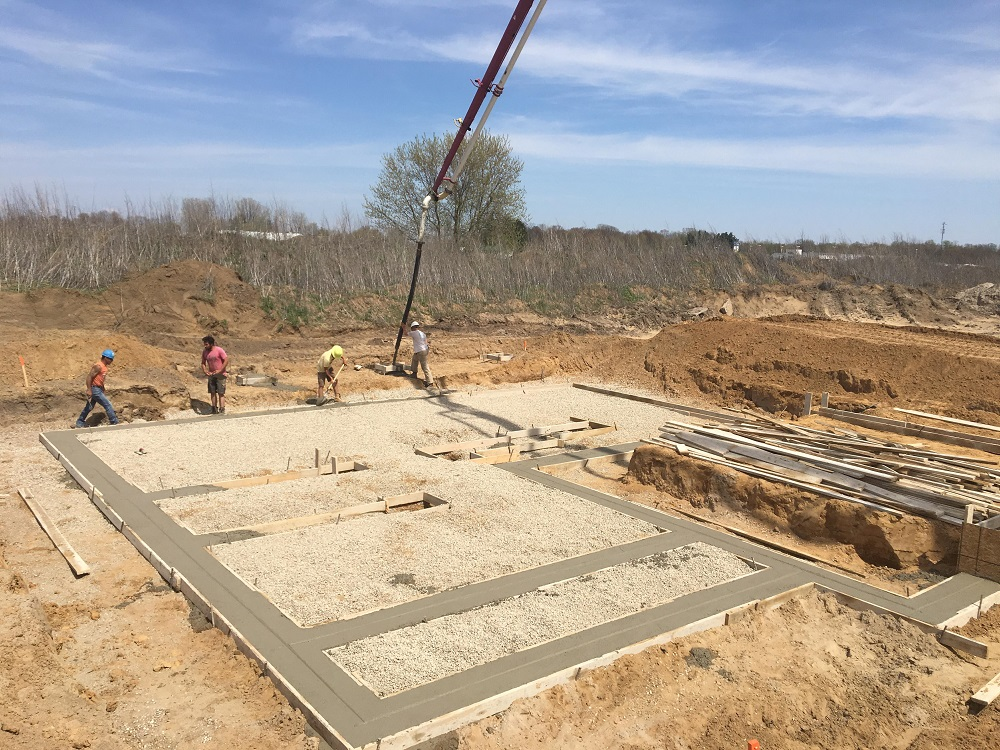 residential concrete forming