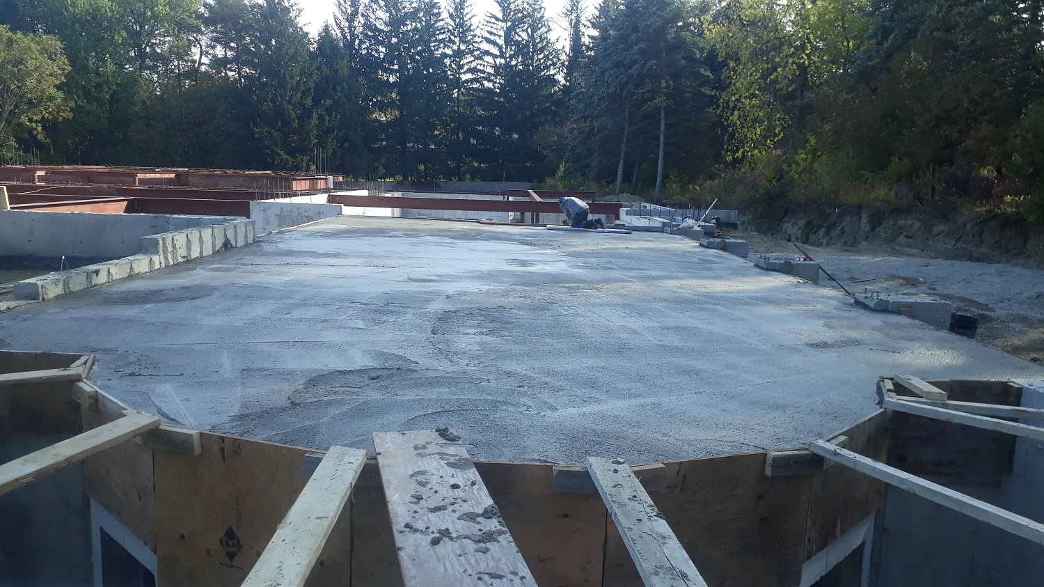 residential house concrete forming toronto