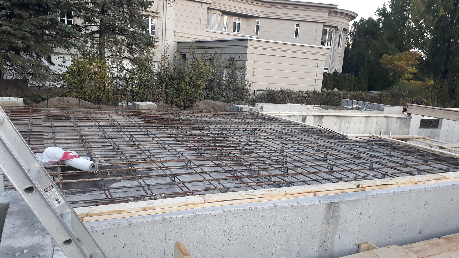 residential house concrete forming company