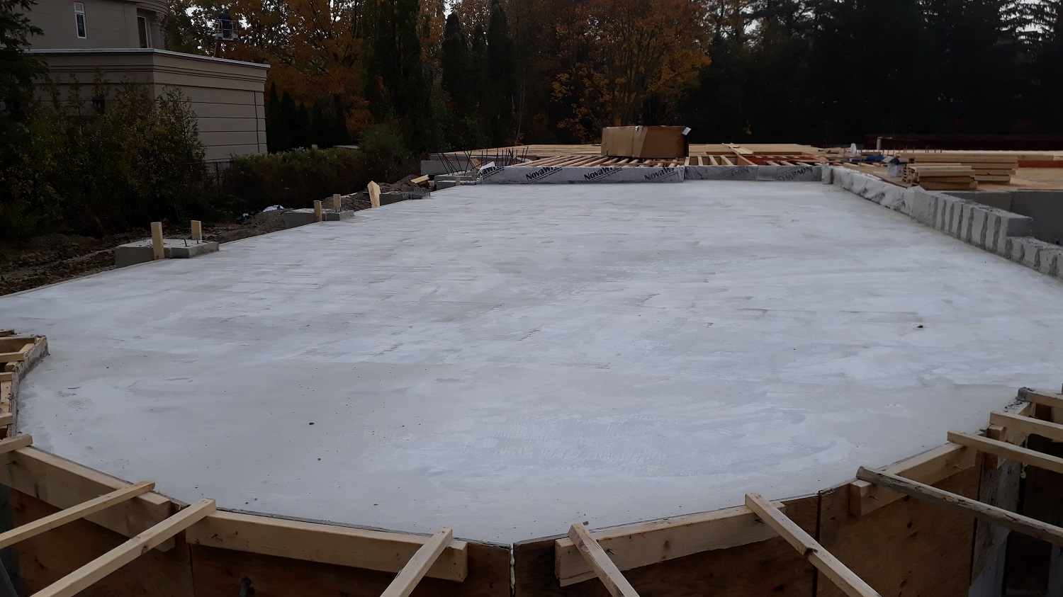 residential house concrete forming contractor