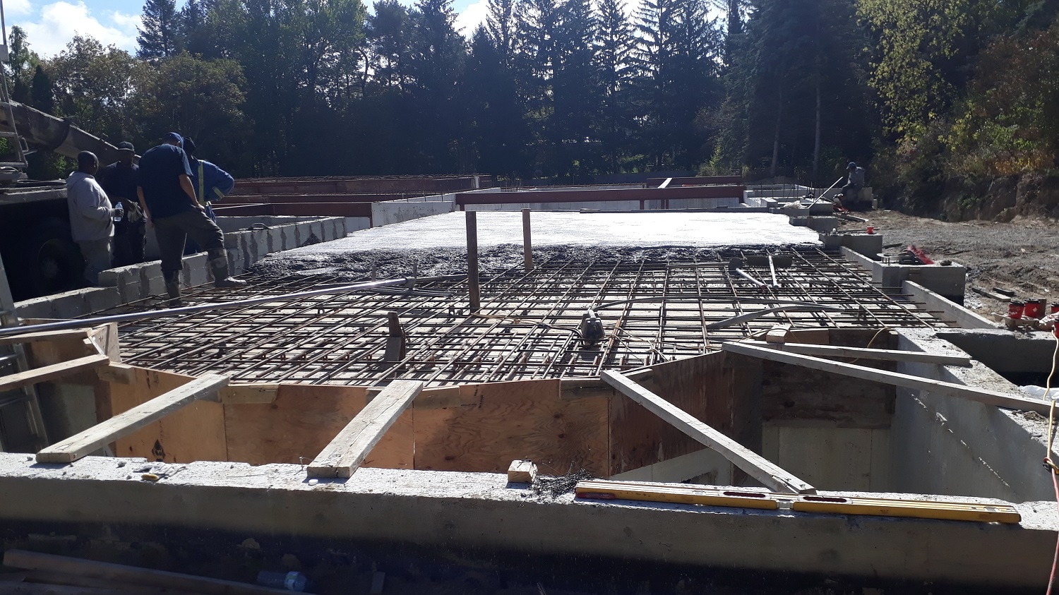 residential house concrete forming ontario