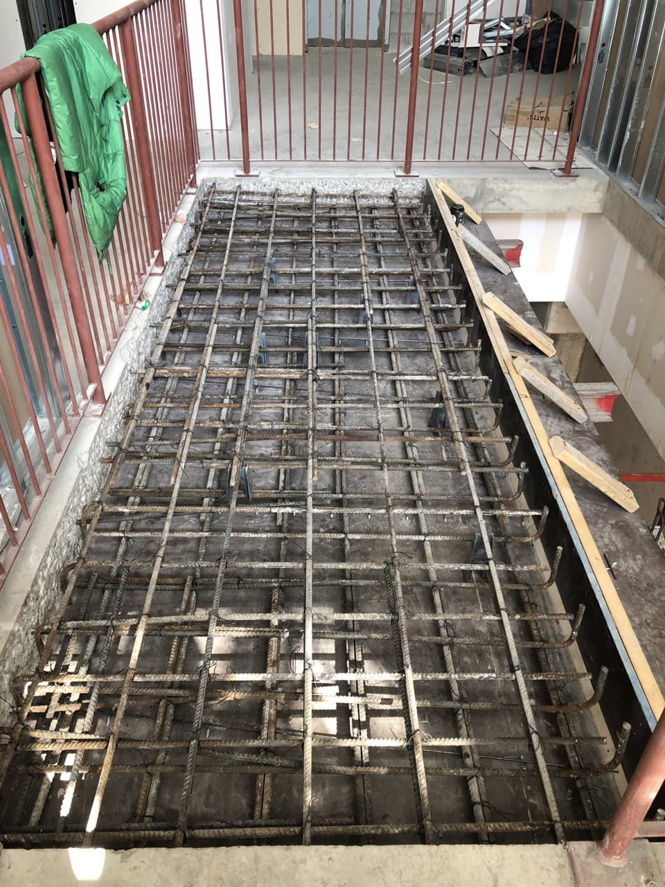 Concrete Forming Project at 202 Bloor st. West , Toronto 1