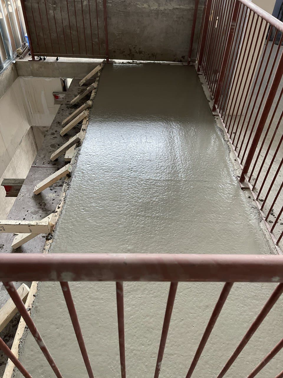 Concrete Forming Project at 202 Bloor st. West , Toronto 2
