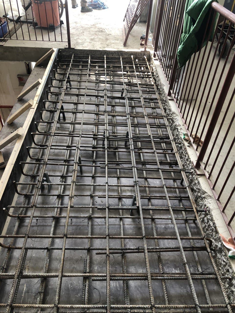 Concrete Forming Project at 202 Bloor st. West , Toronto