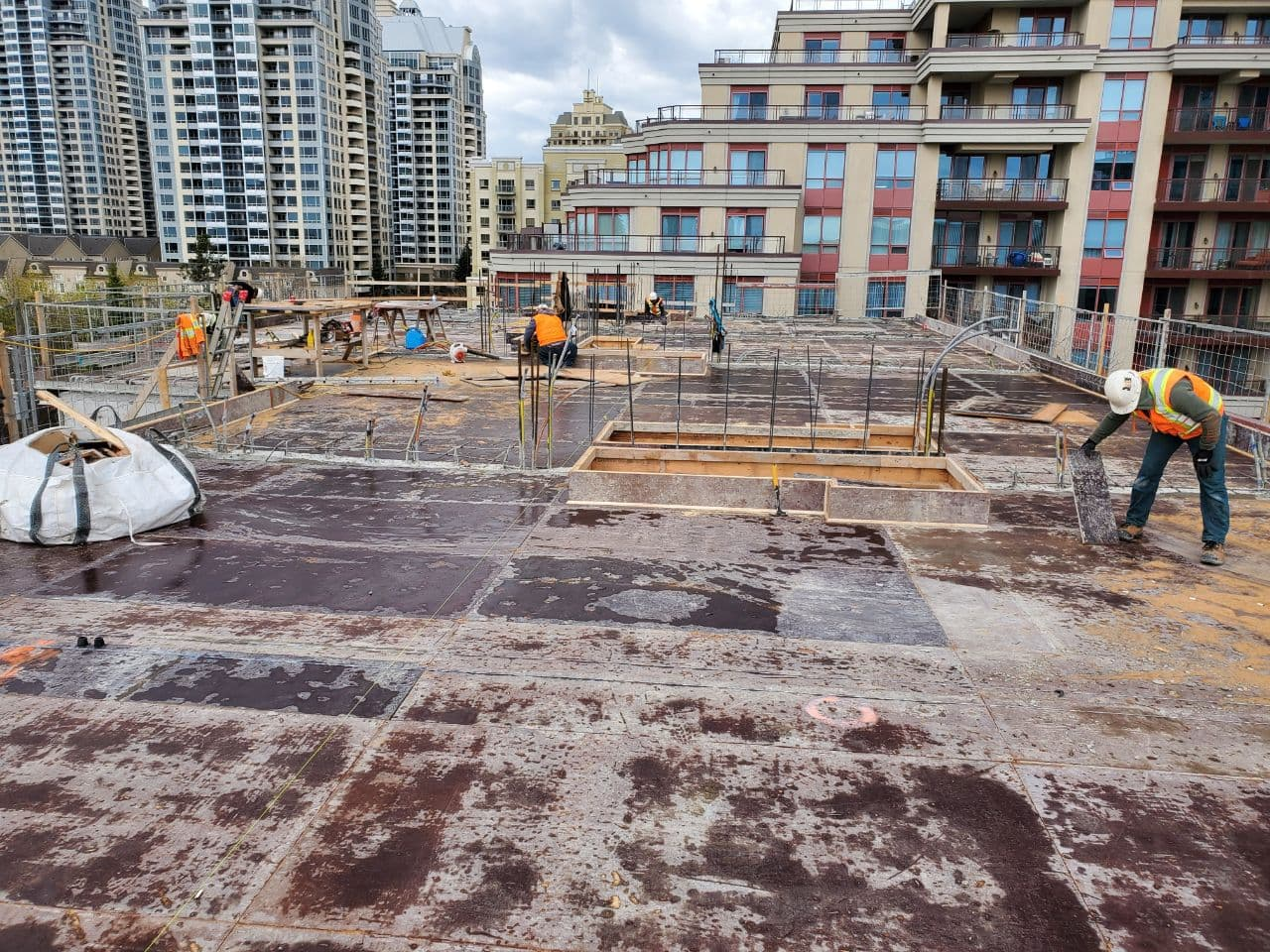 Residential Concrete Forming Project at 12 Dervock crescent, North York , Toronto 1