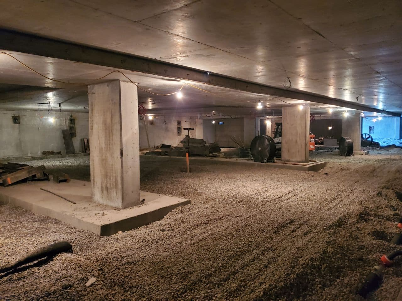 Residential Concrete Forming Project at 12 Dervock crescent, North York , Toronto 2