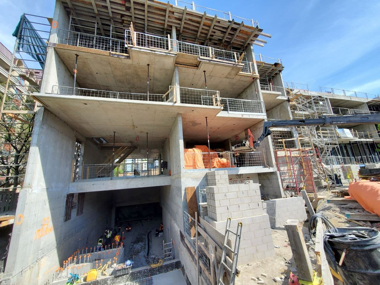 Residential Concrete Forming Project at 12 Dervock crescent, North York , Toronto 5