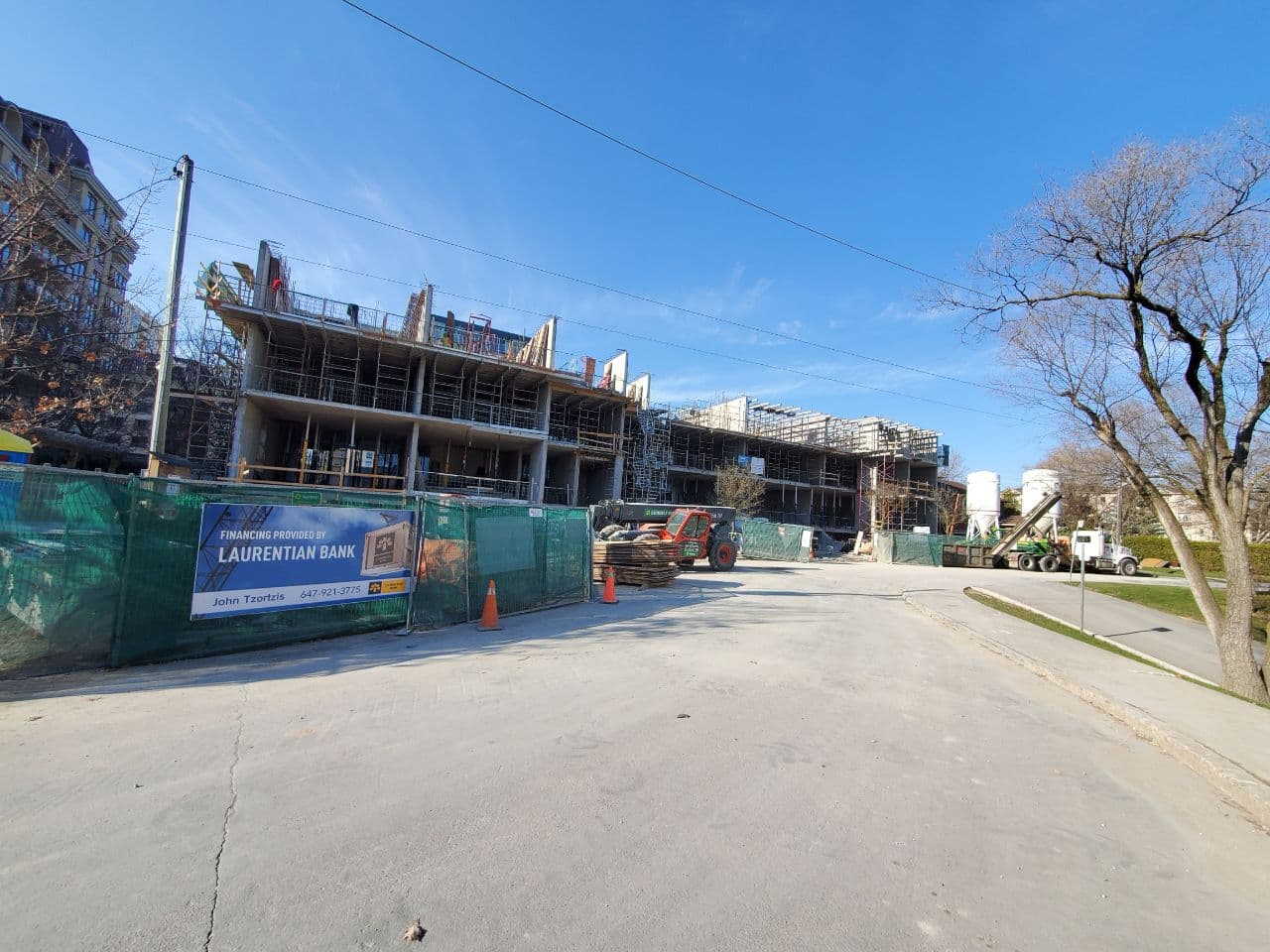 Residential Concrete Forming Project at 12 Dervock crescent, North York , Toronto 7