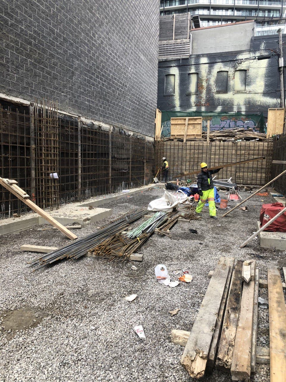 Residential Concrete Forming Project at 369 Queen st west , Toronto 6
